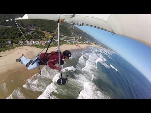 Hang Gliding in Wilderness - Day 9 - 1st Map of Africa flight