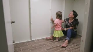 Tornado Shelter and Safe Room - ArmoredCloset Product Tour and Demonstration