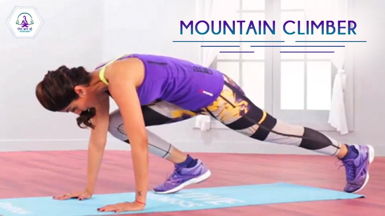 Mountain Climber Pose