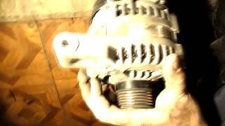ford focus 2 2.0 форд фокус 2 2 литровый ремонт снятие, замена генератора, замена ремня генератора