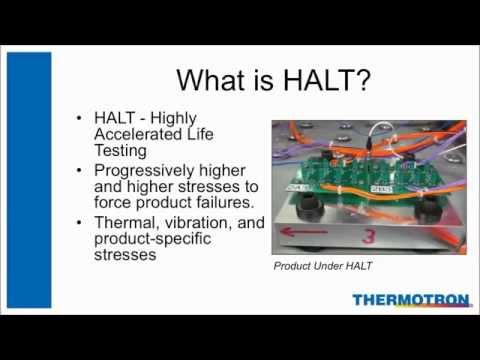 Thermotron Webinar: Unintended Consequences - The Importance of Table Uniformity with HALT/HASS
