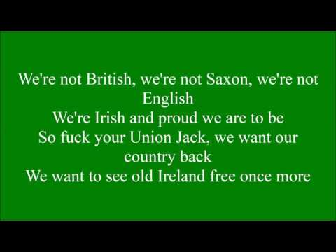 Go On Home British Soldiers with lyrics