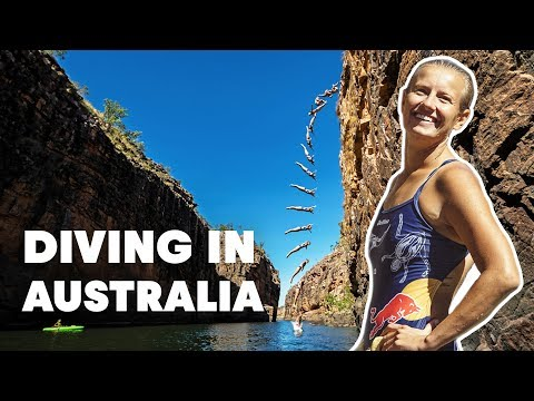 Diving Into The Australian Outback | Rainbow Dive 4K