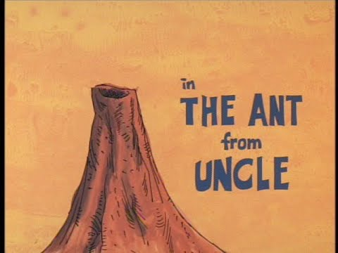Ant And The Aardvark: THE ANT FROM UNCLE + Bumper (1971 TV Version, Laugh Track)