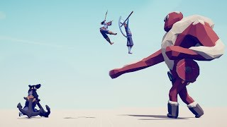 JUMPING TRIO vs EVERY UNIT - Totally Accurate Battle Simulator TABS