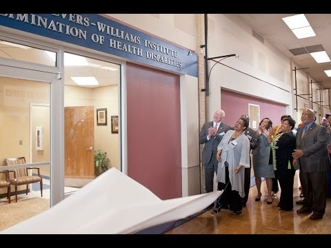 Dedication of Myrlie Evers-Williams Institute for the Elimination of Health Disparities