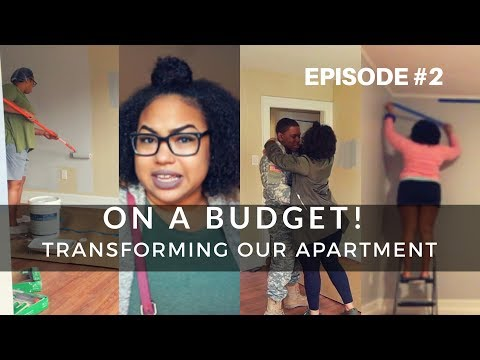 Transforming Our Apartment ON A BUDGET! (Saved over $500 US) [Episode 2]