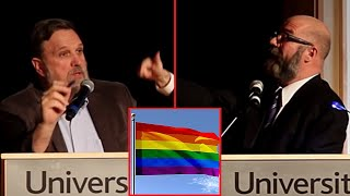 Andrew Sullivan & Douglas Wilson Debate: Civil Marriage for Gay Couples Good for Society?