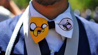 Как сделать галстук БАБОЧКУ ?!(Очень простой способ для изготовления бабочки! Желаю вам всем удачи! ----------------------------------------------------------------------..., 2014-12-30T11:07:34.000Z)