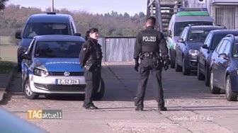 Drogen-Razzia im Zwickauer Asylbewerberheim