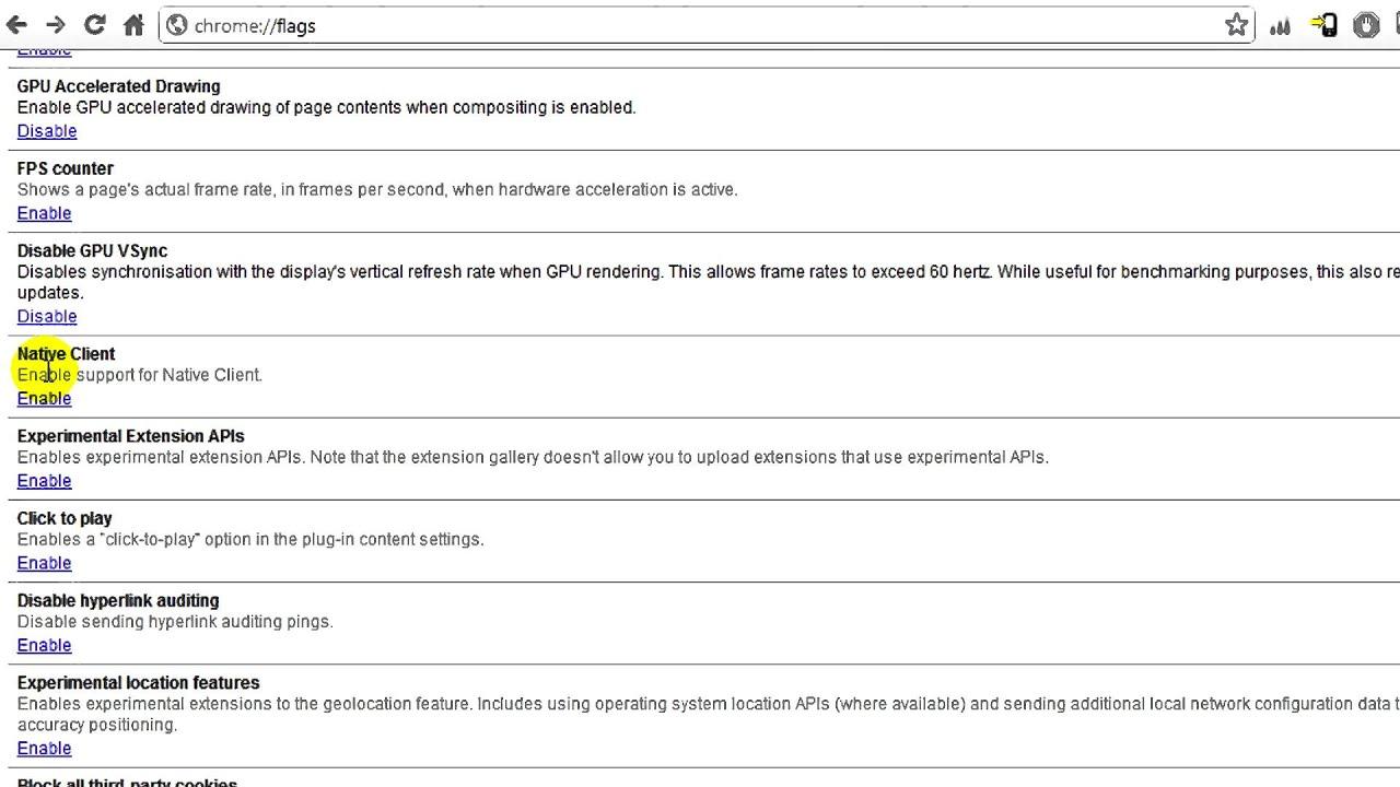 Google Chrome: GPU Acceleration