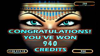 Cleopatra 2 High Limit Slot Play