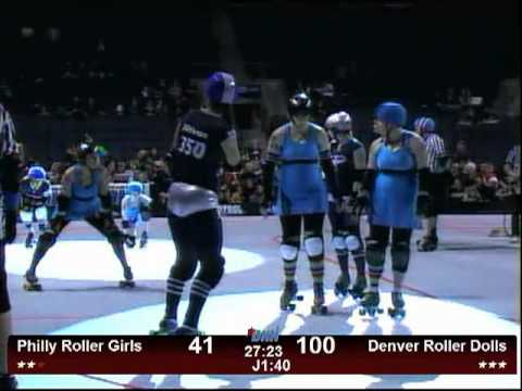 The Most Exciting Minute of Roller Derby EVER! (Not)