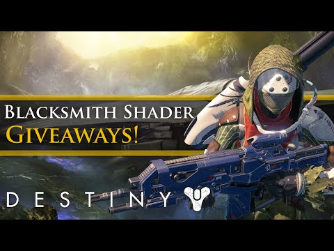 Destiny blacksmith armor shader code giveaway cp fun amp music