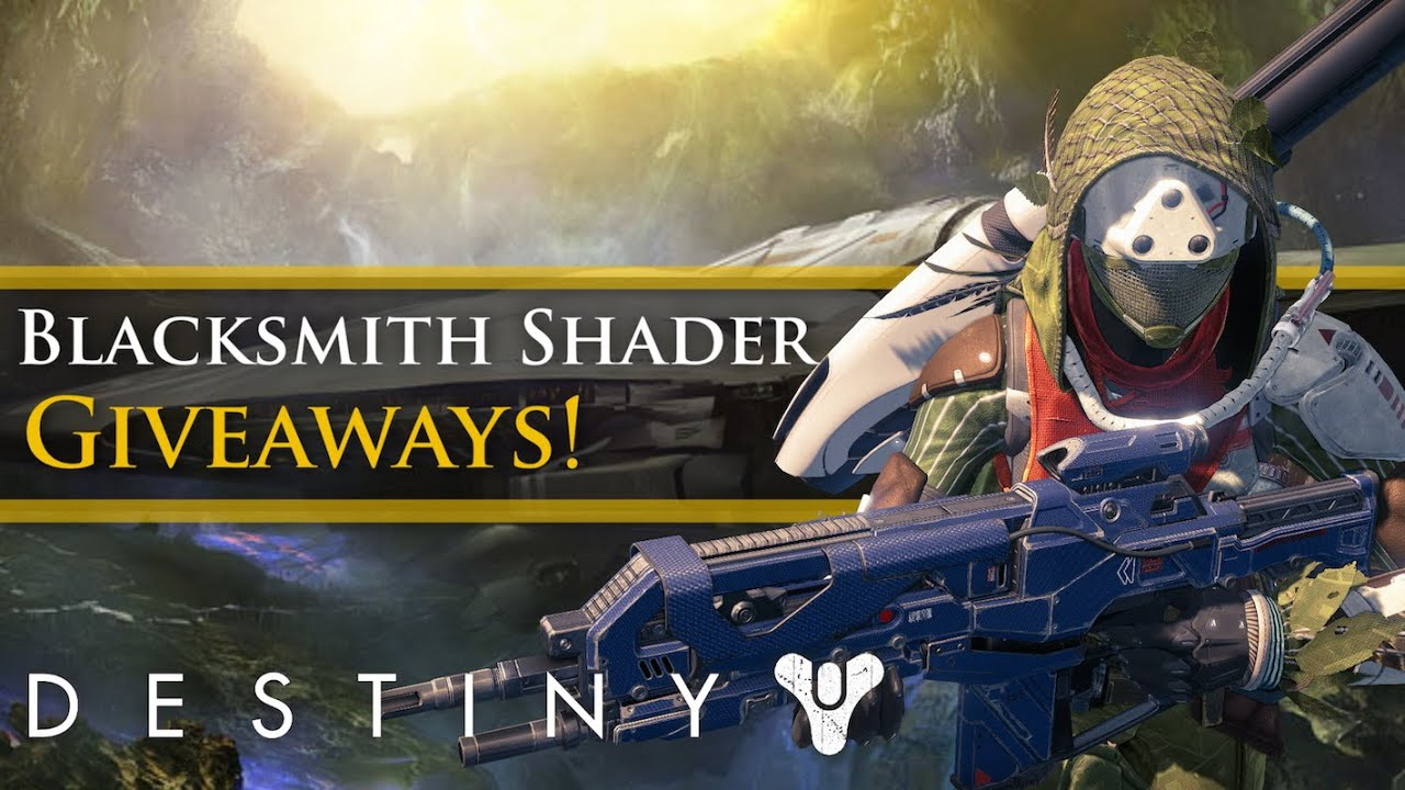 Armor shader code giveaway youtube destiny blacksmith shader code