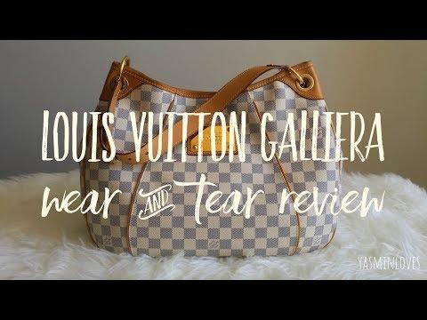 Louis Vuitton Galliera Damier Azur   Wear & Tear Review