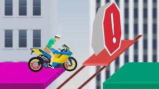 СЛОЖНЕЙШИЙ МОТОПАРКУР ИЗ GTA 5 ИЛИ ЭТИ УРОВНИ ТЫ НЕ ПРОЙДЕШЬ! ◄ Happy Wheels #15