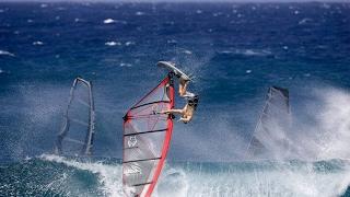 Виндсерфинг - Фристайл, трюки, падения от профи и мировой рекорд скорости
