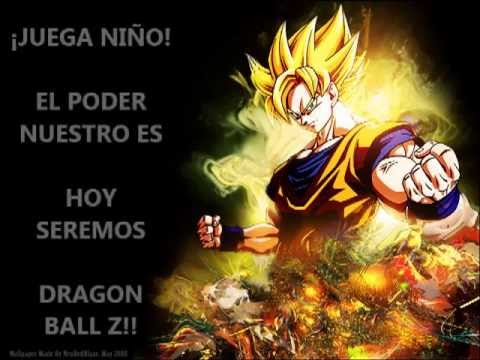 Dragon ball z el poder nuestro es letra youtube - Dbz fantasy anime ...