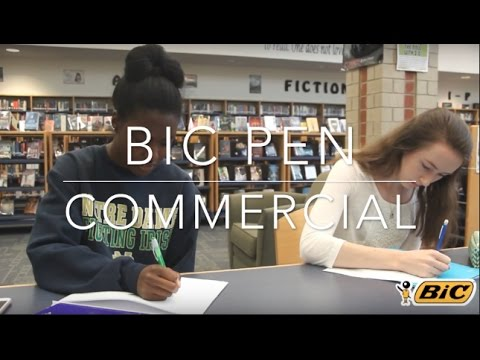 BIC Pen Commercial