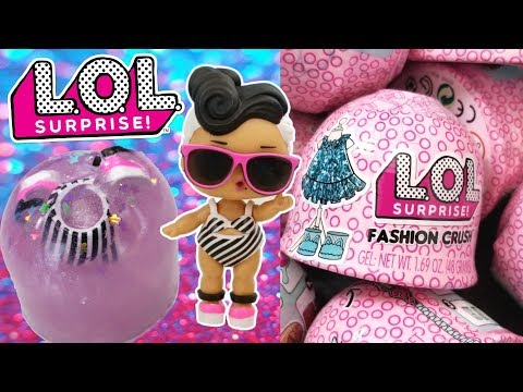 Authentic LOL Surprise FASHION CRUSH *LOT OF 2*  Jelly EYE SPY DOLL ACCESSORIES!