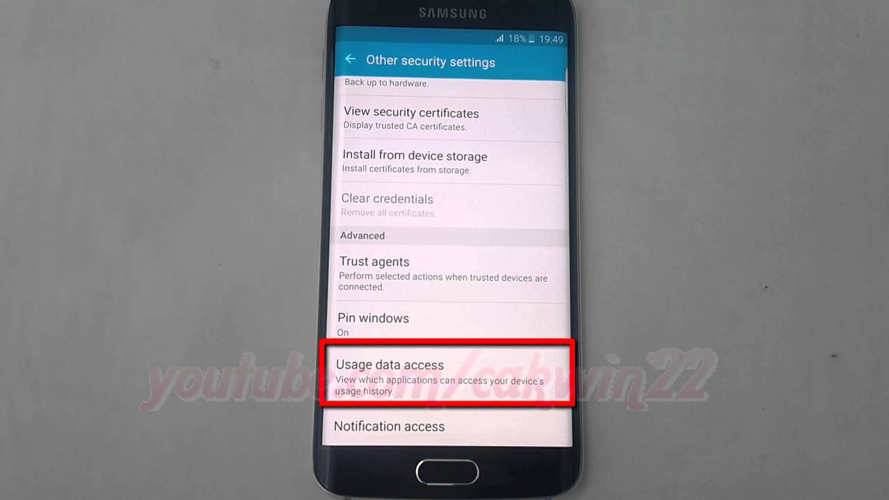 Android Lollipop How To Enable Or Disable Usages Data Access