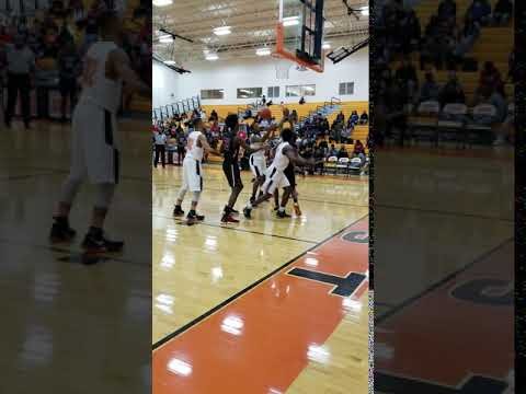 Columbus East High School Tigers Basketball Team (2)