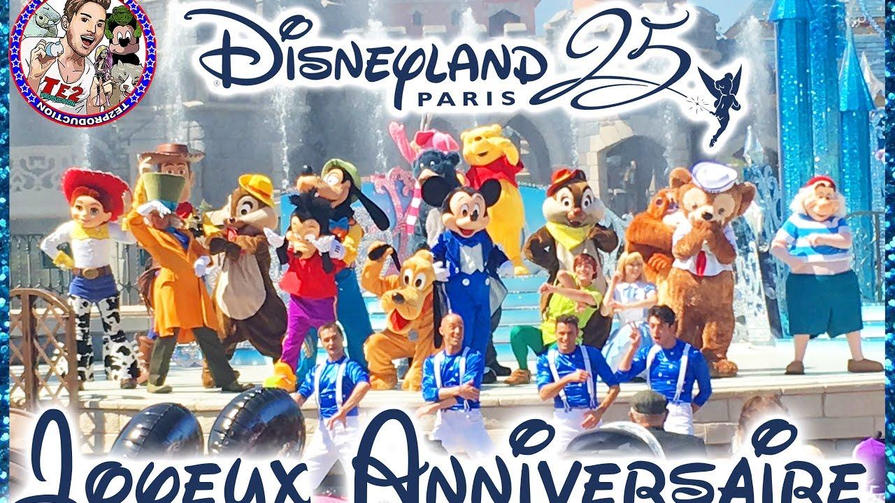 Spectacle Joyeux Anniversaire Mickey Disneyland Paris Youtube