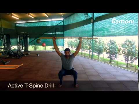 #FitnessFriday- Active T-Spine Drill