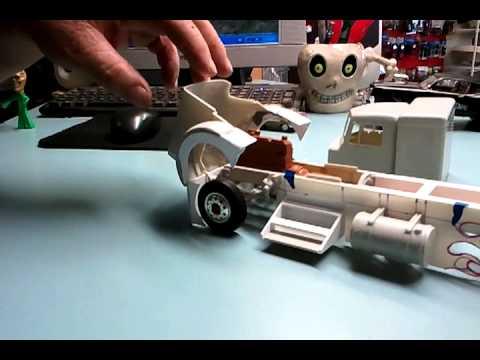 Big Eddie S 1 25 Scale Peterbilt 359 Model Phase 1 Youtube