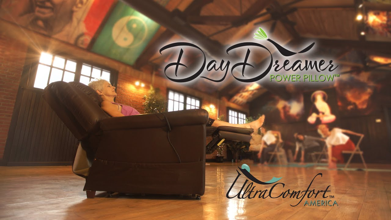 "DayDreamer Power Pillow by Ultra fort 30 TV Spot ""Yoga"""