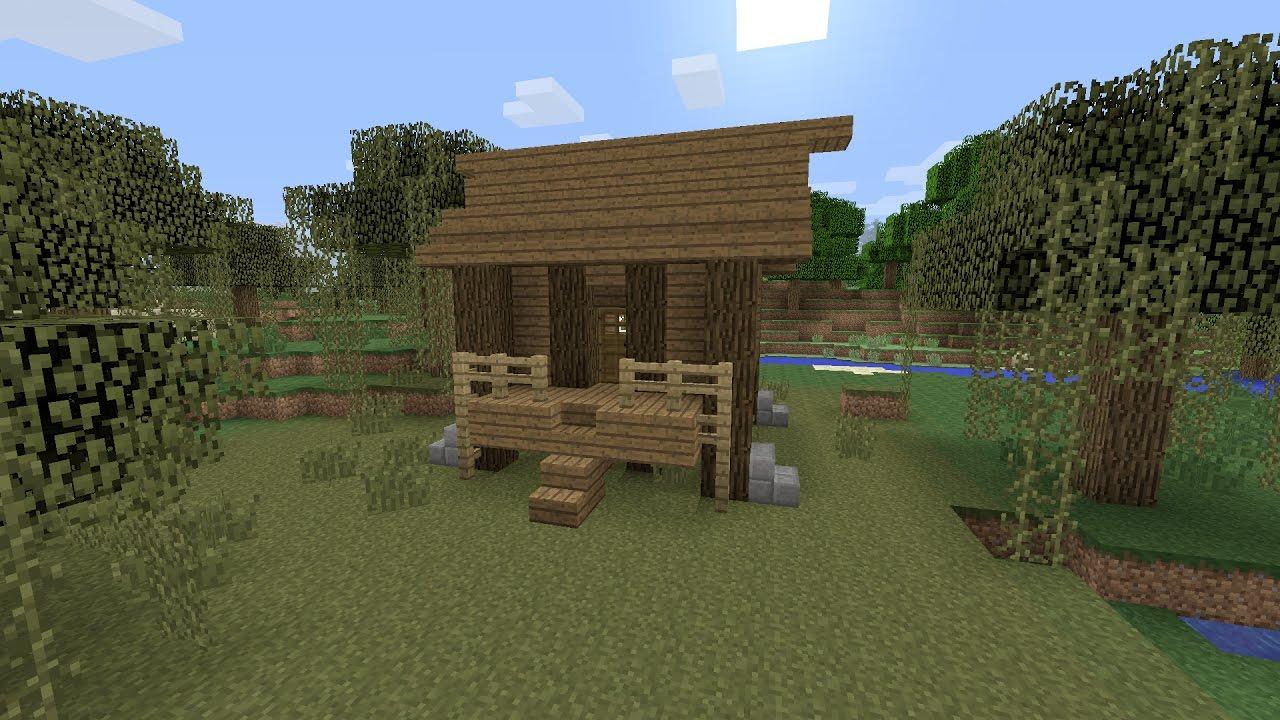 Minecraft een houten huis maken nederlands youtube for Huis maken minecraft