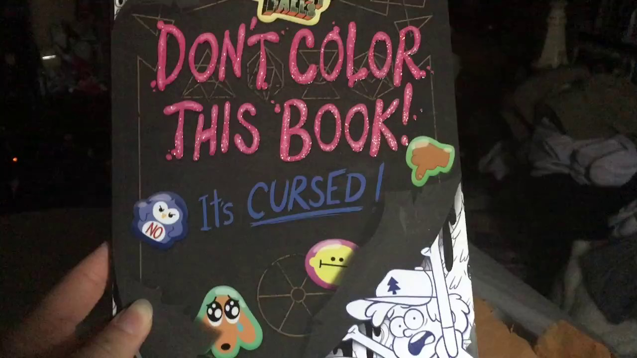 Gravity Falls Coloring Book