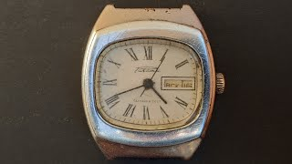 Советские часы Ракета сделано в ссср с календарем