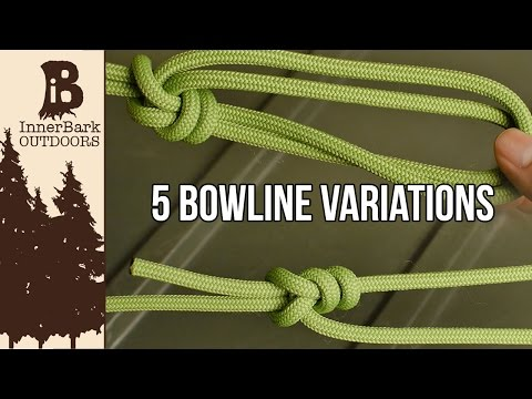 The 5 Most Useful Bowline Knots