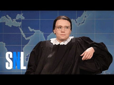 Thumbnail: Weekend Update: Ruth Bader Ginsburg on Not Retiring - SNL
