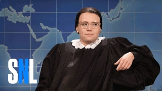 Weekend Update: Ruth Bader Ginsburg on Not Retiring - SNL