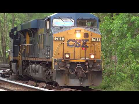 An Hour Of Assorted Freight Trains In St Denis, Maryland
