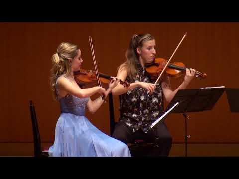 MMCJ Yokohama 2017, Student's Chamber Music - Mozart: String Quartet in B-flat major, K589