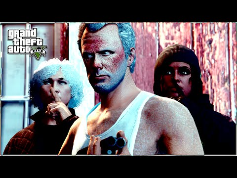 GTA 5 ONLINE  DON'T BREATHE GTA 5 SKIT