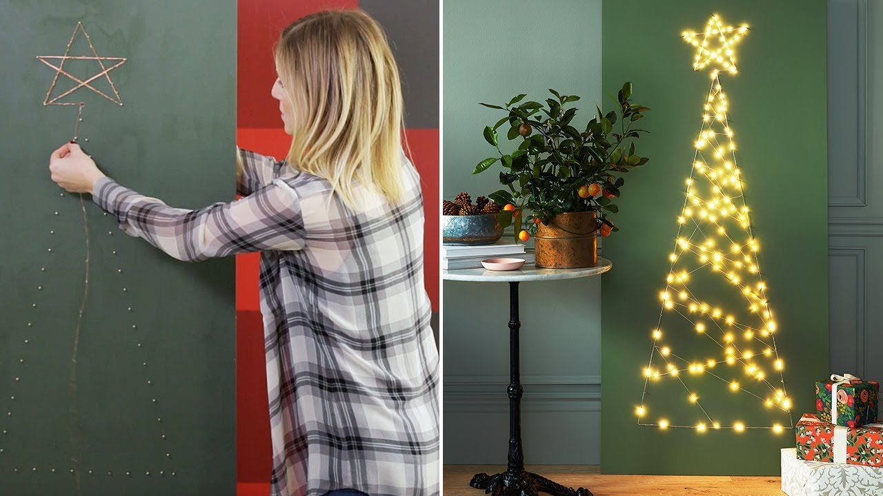 Christmas Tree Alternatives For Cat Owners.Christmas Diy Modern Small Space Christmas Tree
