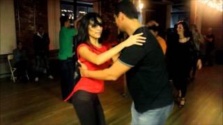 Andres Giraldo & Selene Tovar - Salsa Y Control Jam Session (Social Dancing, Sun - 9/30/12)