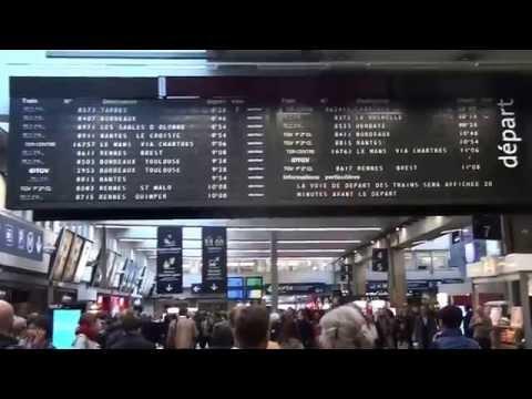 Gare Montparnasse em Paris