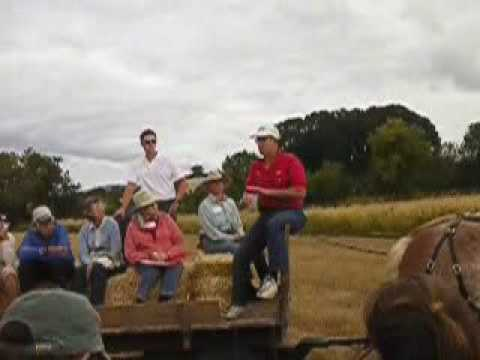 Joel Salatin on sprouting grains for poultry