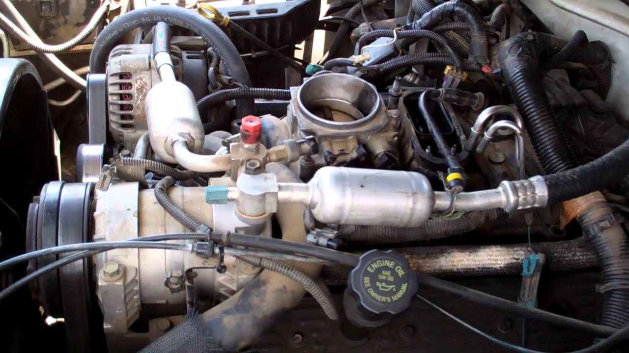 1996 chevy tahoe engine