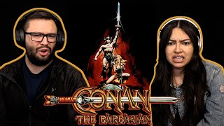 Conan the Barbarian (1982) First Time Watching! Movie Reaction!!