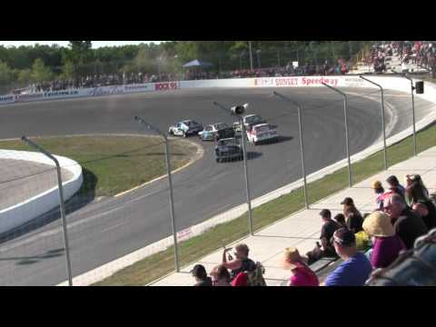 Sunset Speedway Mighty Mini Heat 1 2016 09 03