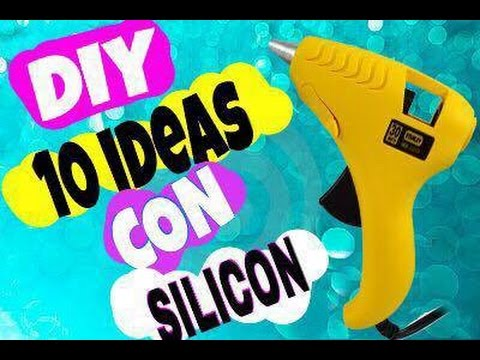 DIY 10 ideas con silicon