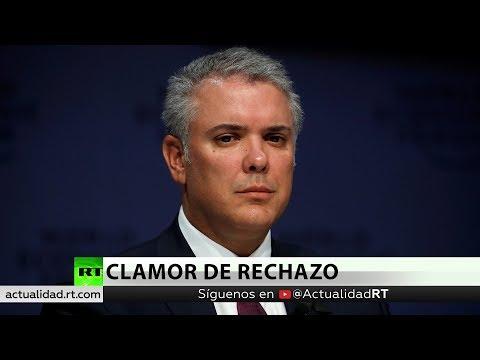 Exigen al presidente de Colombia que rechace una intervención militar en Venezuela