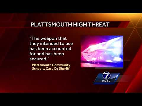 2 students planned 'attack' on Plattsmouth High School, Cass County Sheriff's Office says